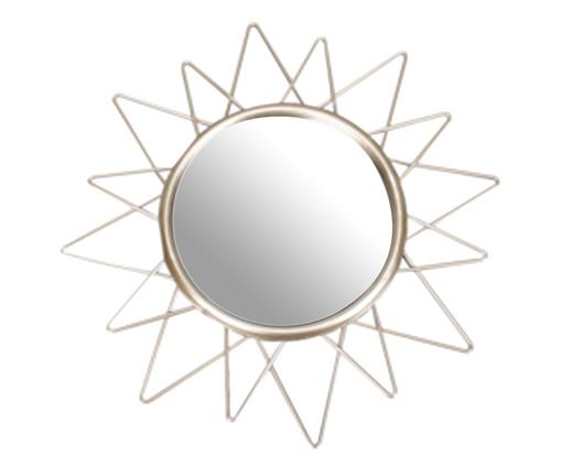 Espelho Sunshine - Dourado, Dourado | WestwingNow