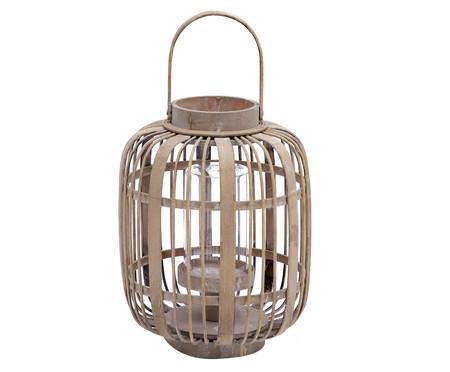 Lanterna em Bambu Alder - Natural | WestwingNow