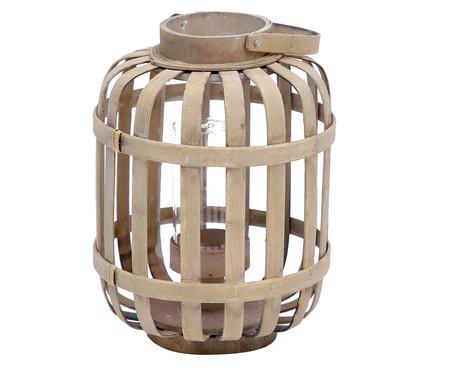 Lanterna em Bambu Acácia - Natural | WestwingNow