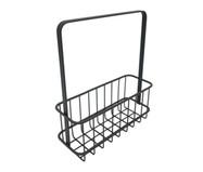 Cesta Decorativa Grid Basket - Preto | WestwingNow