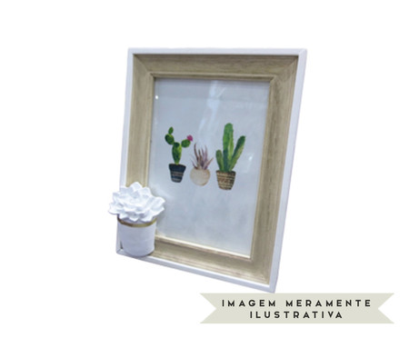 Porta-Retrato Cactus Flower | WestwingNow