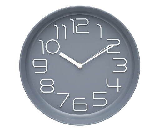 Relógio de Parede Pearl, Cinza | WestwingNow