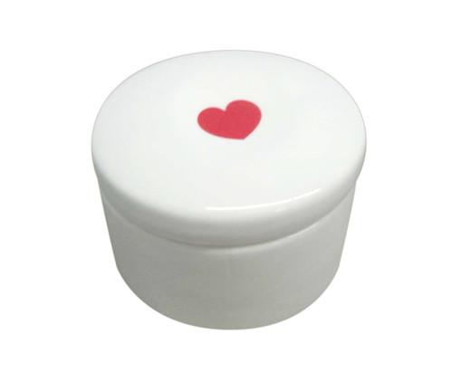 Pote Decorativo em Porcelana Pilatti - Branco, Branco | WestwingNow