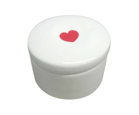 Pote Decorativo em Porcelana Pilatti - Branco | WestwingNow