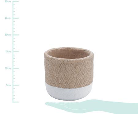 Vaso de Concreto Emuna - Branco e Rosa | WestwingNow