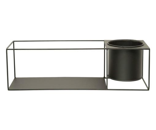 Prateleira de Ferro Goeform Rectangle - Preta, Cinza, Colorido | WestwingNow