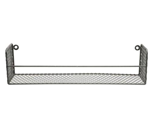 Prateleira de Ferro Square Cage - Preta, Cinza, Colorido | WestwingNow