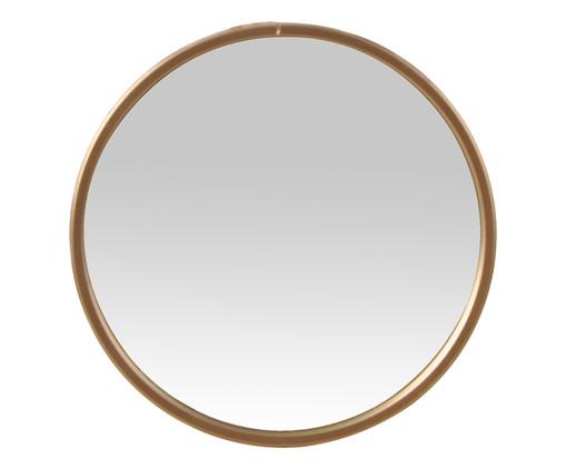Espelho de Parede Round Shine - Dourado, Dourado | WestwingNow