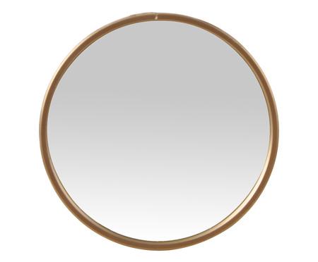 Espelho de Parede Round Shine - Dourado | WestwingNow