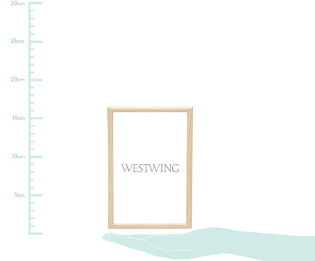 Porta-Retrato Basic - Bege | WestwingNow