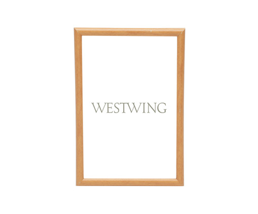 Porta-Retrato Basic - Natural, Bege | WestwingNow