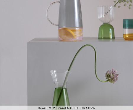 Jarra Broome Transparente e Verde - 550ml   WestwingNow