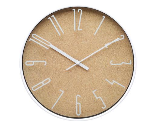 Relógio de Parede Light Wood Style - Bege, Bege | WestwingNow