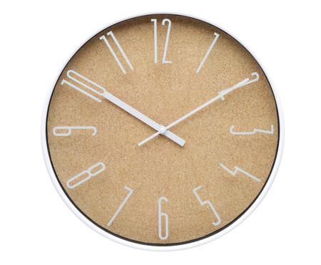 Relógio de Parede Light Wood Style - Bege | WestwingNow