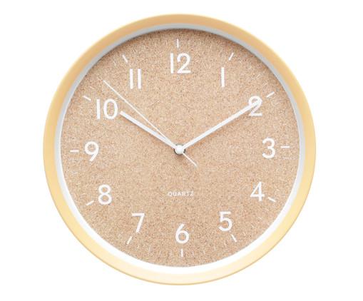 Relógio de Parede Cork Style, Bege | WestwingNow