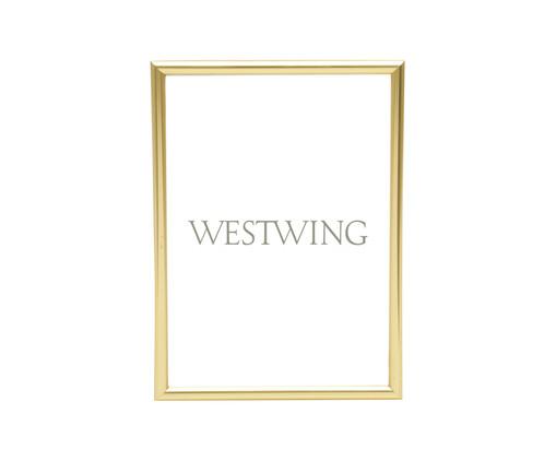Porta-Retrato Basic - Dourado, Dourado   WestwingNow