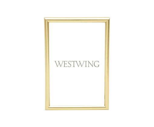 Porta-Retrato Basic - Dourado, Dourado | WestwingNow