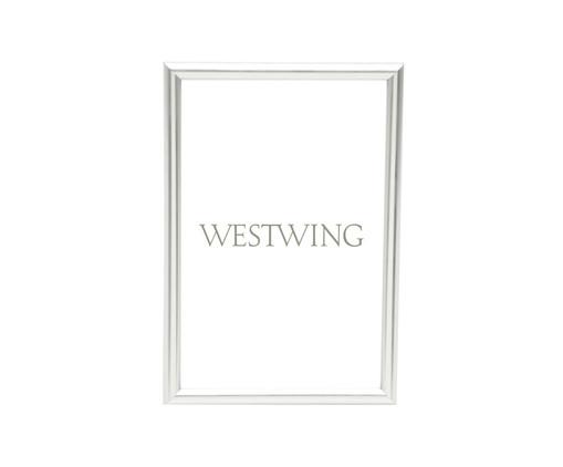 Porta-Retrato Basic - Prateado, Prata / Metálico | WestwingNow