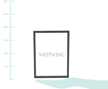 Porta-Retrato Joana - Preto | WestwingNow