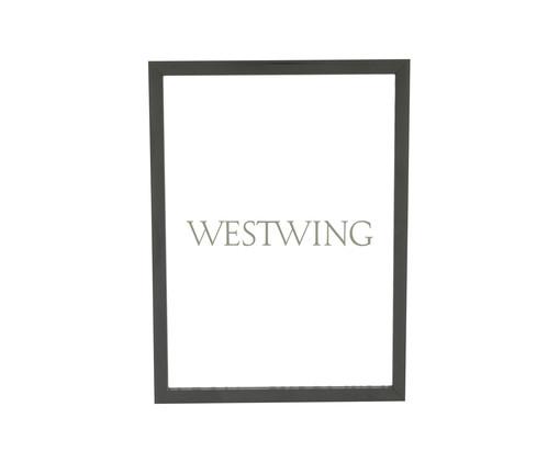 Porta-Retrato Joana - Preto, Preto | WestwingNow
