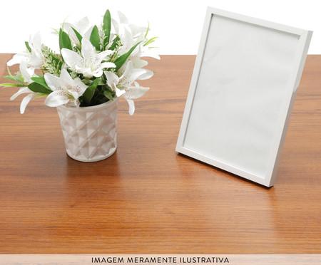 Porta-Retrato Basic - Branco   WestwingNow