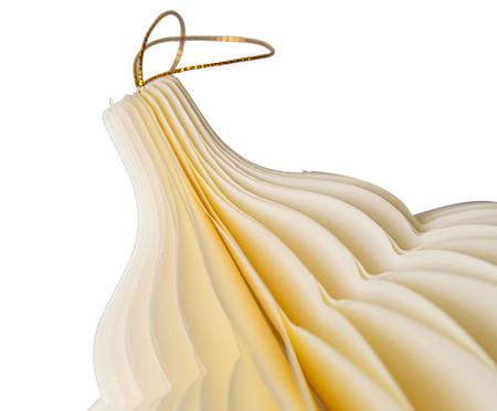 Decorativo Honeycomb Theodora Creme - 20cm   WestwingNow