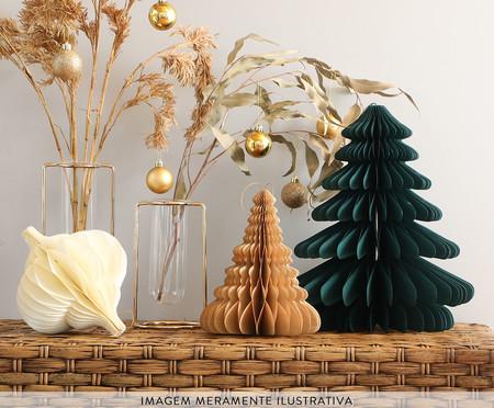 Decorativo Árvore Honeycomb Elsa Petróleo - 32cm   WestwingNow
