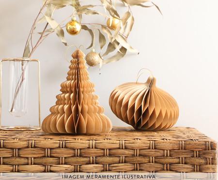 Decorativo Árvore Honeycomb Celyn Azul - 15cm   WestwingNow
