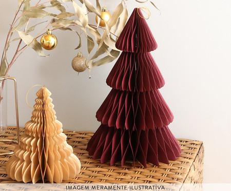 Decorativo Árvore Honeycomb Celyn Bordo - 25cm   WestwingNow