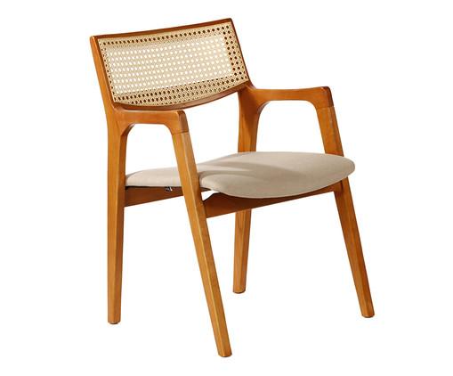 Cadeira em Madeira Glenna - Natural, Marrom, Colorido | WestwingNow