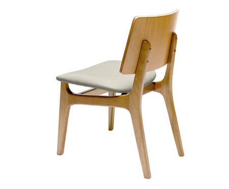 Cadeira Join - Cinza e Natural | WestwingNow