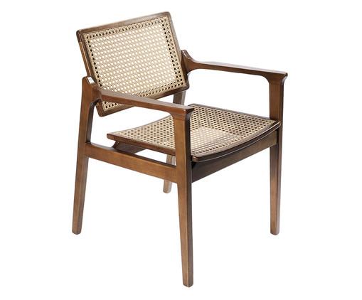 Cadeira de Madeira e Palha Favo Margo - Natural, Branco, Madeira | WestwingNow