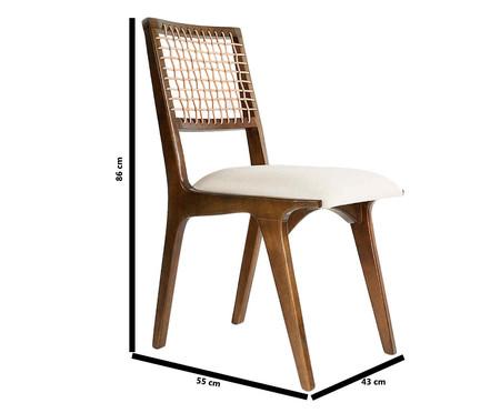 Cadeira de Madeira Verona - Bege | WestwingNow