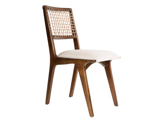 Cadeira de Madeira Verona - Bege, Bege, Madeira, Colorido | WestwingNow