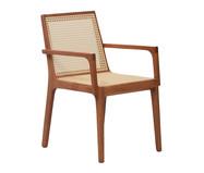 Cadeira com Braços Caymmi - Natural   WestwingNow