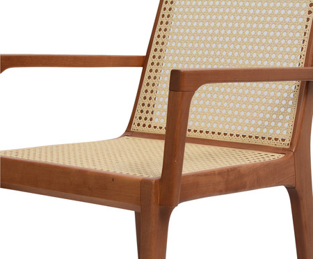 Cadeira com Braços Caymmi - Natural | WestwingNow