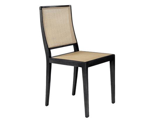 Cadeira em Madeira Maciça Isabel - Preta, Preto, Natural   WestwingNow