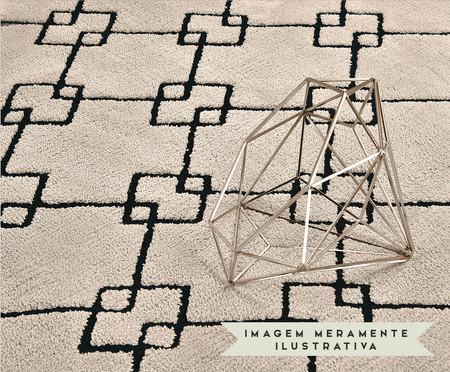 Tapete Belga Celeste Geométrico - Cinza | WestwingNow
