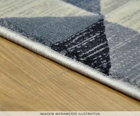 Tapete Turco Triângulos Susanne - Bege e Azul | WestwingNow