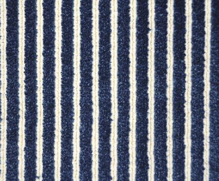 Tapete Belga Listrado Carissa - Azul | WestwingNow