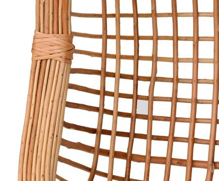 Poltrona Suspensa com Pelego Panay - Natural | WestwingNow