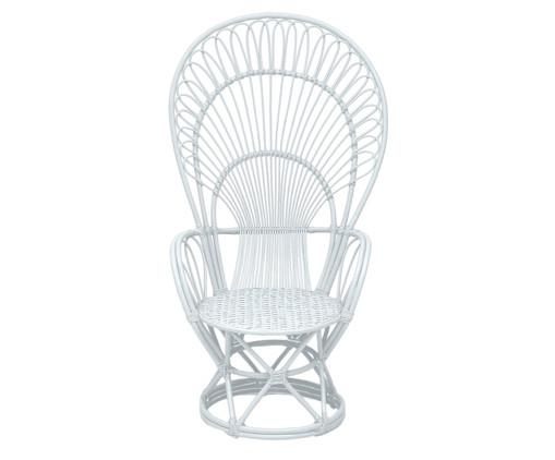 Poltrona Philipinas Branca - 85X142X78cm, Branco | WestwingNow