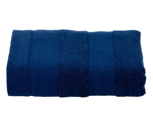 Toalha de Rosto Listras Marinho - 460 g/m², Azul Marinho | WestwingNow