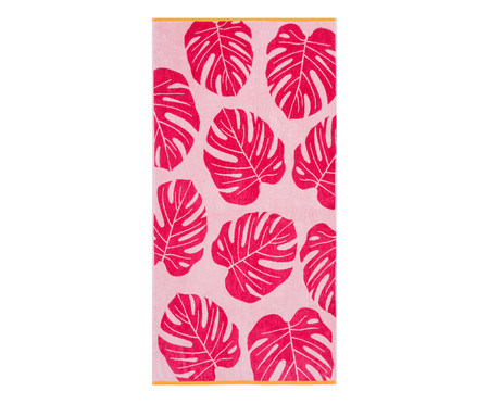 Toalha de Praia Costela de Adão Rosé e Pink - 420 g/m² | WestwingNow