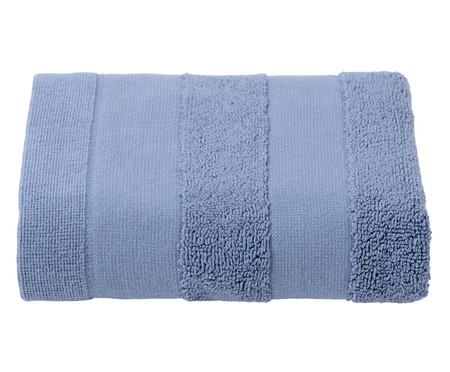 Toalha de Rosto Listras Azul - 460 g/m² | WestwingNow