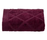 Toalha de Rosto Diamante Vinho - 460 g/m² | WestwingNow