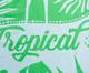 Toalha de Praia Flamingo Exotic Verde e Branco - 420 g/m², Verde | WestwingNow