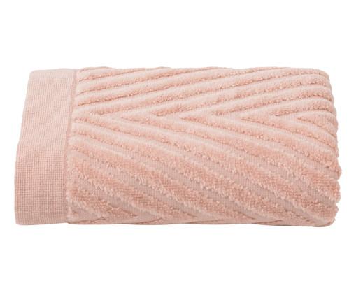 Toalha de Rosto Espinha de Peixe Powder - 460 g/m², Rosa | WestwingNow