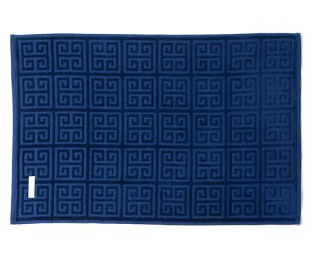 Toalha de Banho Chave Grega Marinho - 460 g/m² | WestwingNow