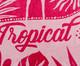 Toalha de Praia Flamingo Exotic Rosé e Pink- 420 g/m², Ros | WestwingNow
